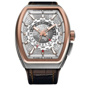 New Franck Muller Vanguard World Timer GMT Rose Gold
