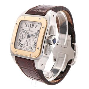 Cartier Santos 100 Chronograph Two Tone