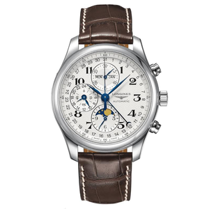 New Longines Master Collection Triple Calendar Chronograph on Strap