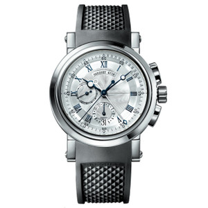 New Breguet Marine 5827 Silver Dial White Gold