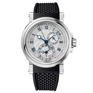 New Breguet Marine 5857 Silver Dial on Strap