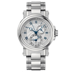 New Breguet Marine 5857 Silver Dial on Bracelet