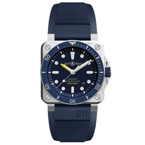New Bell & Ross BR 03-92 Diver Blue Dial