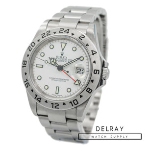 Rolex Explorer II 16570 Polar F Serial