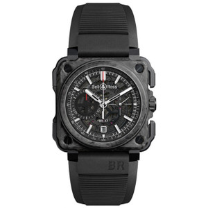 New Bell & Ross BR-X1 Skeleton Chronograph Carbone Forgé