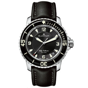 New Blancpain Fifty Fathoms Black Dial
