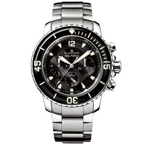 New Blancpain Fifty Fathoms Chronograph Flyback Black Dial