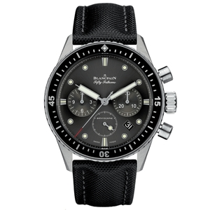 New Blancpain Fifty Fathoms Bathyscaphe Chronograph Black Dial