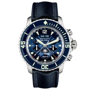 New Blancpain Fifty Fathoms Complete Calendar Moonphase
