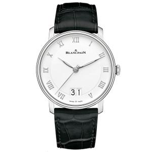 New Blancpain Villeret Grande Date White Dial