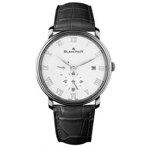 New Blancpain Villeret Half Timezone White Dial