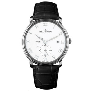 New Blancpain Villeret Ultra Slim Small Seconds White Dial