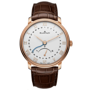 New Blancpain Villeret Ultra Slim Silver Dial Rose Gold