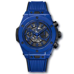 New Hublot Big Bang Unico Blue Magic Chronograph *Limited Edition*