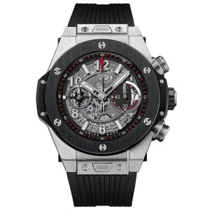 New Hublot Big Bang Unico Chronograph 45 Black Bezel