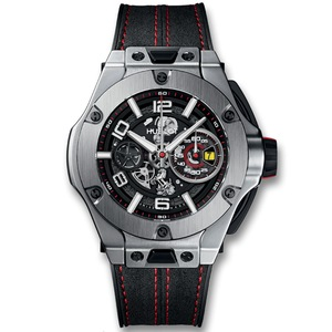 New Hublot Big Bang Ferrari Unico Chronograph Titanium *Limited Edition*