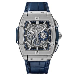 New Hublot Spirit of Big Bang Chronograph 45 Grey Bezel Titanium