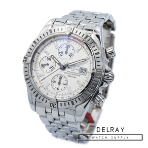 Breitling Chronomat Evolution Silver Dial *ON SPECIAL*