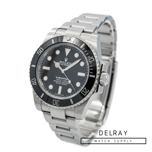 Rolex Submariner No Date 114060 *2018 Box and Papers*