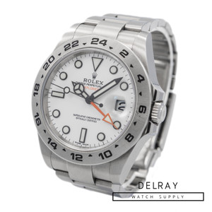 Rolex Explorer II 216570 Polar Dial *2018 Box and Papers*