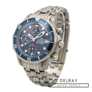 Omega Seamaster Professional Chronograph Wave Dial Titanium