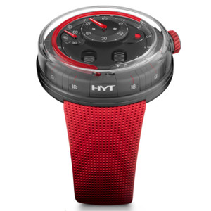 New HYT H0 Anthracite Dial Red Accents