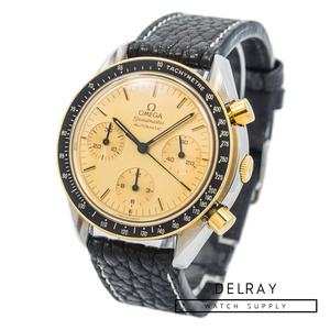 Omega Speedmaster Reduced Two Tone Champagne Dial