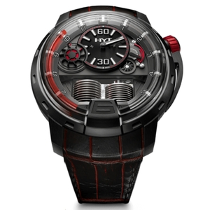 New HYT H1 Anthracite Dial Red Accents