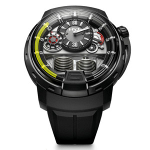 New HYT H1 Grey Dial Yellow Accents