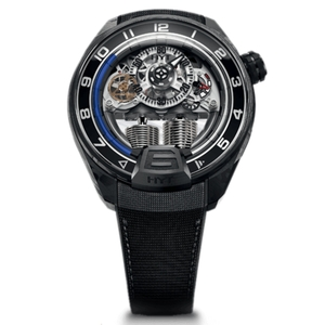 New HYT H4 Skeleton Dial Blue Accents