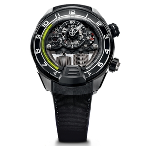 New HYT H4 Skeleton Dial Yellow Accents