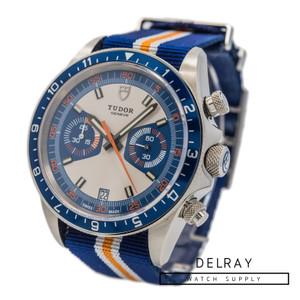 Tudor Heritage Chronograph Blue Dial on Strap