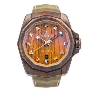 Corum Admiral's Cup Bronze and Wood Dial *UNWORN*