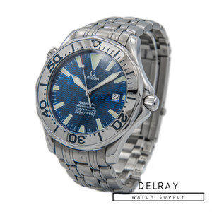 Omega Seamaster Professional Electric Blue Dial *Box and Papers*