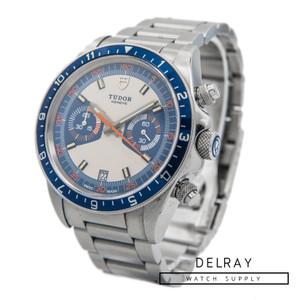 Tudor Heritage Chronograph Blue Dial on Bracelet