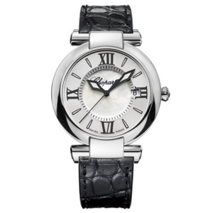 New Chopard Imperiale 36 Silver Dial on Strap