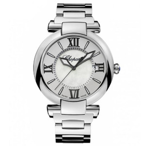 New Chopard Imperiale 40 Silver Dial on Bracelet