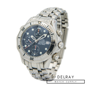 Omega Seamaster Chronograph Wave Dial