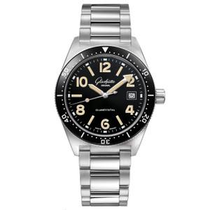 New Glashütte Original Seaq Black Dial on Bracelet