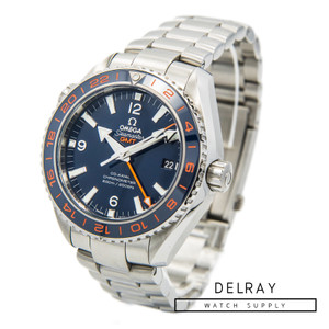 Omega Seamaster Planet Ocean 600M Co-Axial GMT GoodPlanet