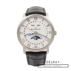 Blancpain Villeret Quantième Complet *2019 Box and Papers*