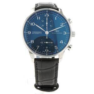 IWC Portuguese Chronograph Blue Dial