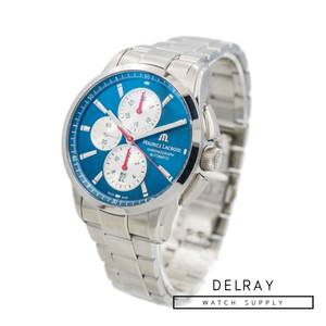 Maurice Lacroix Pontos Chronograph Blue Dial *Store Display*