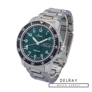 Sinn 104 Classic Pilot Watch Green Dial *UNWORN 2019* *Limited Edition*