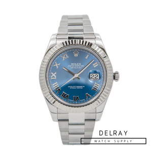 Rolex Datejust II Blue Dial 116334