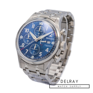 Brellum Pilot Power Gauge Chronometer *Blue Dial*