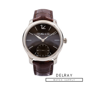 H Moser Mayu *Chocolate Dial* *Box and Papers*