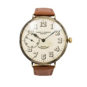 Cuervo y Sobrinos Vintage Pocketwatch Conversion