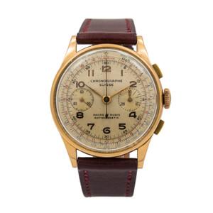 Chronographe Suisse Vintage Chronograph *18K Rose Gold*
