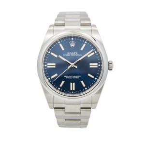Rolex Oyster Perpetual 124300 *UNWORN* *Blue Dial 41mm* *2020*